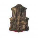 Men's Leather Goucho Waistcoat