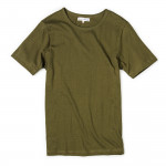1950's Crew Neck Tee in Army