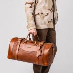Medium Sutherland Bag in Mid Tan