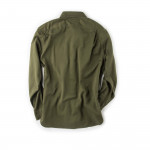 6oz Drill Chino Shirt in Olive
