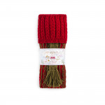 Haddeo Shooting Sock in Ruby Red