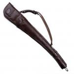 Pair of Deeley Shotgun Slip in Dark Tan Patterned