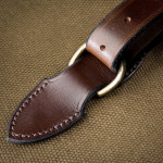 Deeley Shotgun Slip in Sand & Dark Tan