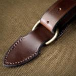 Deeley Shotgun Slip in Sand & Dark Tan