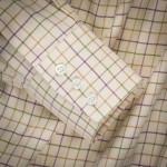 Tattersall Shirt in Olive/ Plum