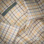 Tattersall Shirt in Blue/Brown