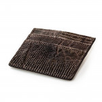 Lizard Card Holder Wallet in Tundra