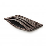 Python Card Holder Wallet in Tundra
