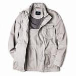 Men's Sorrento Garment Dyed Jacket in Beige