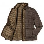 Ladies Magali Reversible Coat with Fur