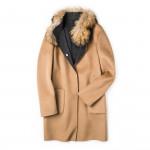 Ladies Reversible Elly Coat with Fur
