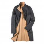 Ladies Reversible Elly Coat with Fur