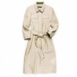 Ladies Linen Daphne Dress