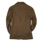 Men's Calido Coat with Leather Details