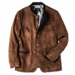 Men's Ferdi Austrian Suede Jacket in Tobacco