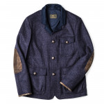 Men's Calido Coat in Flannel Double Jersey