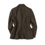 Ladies Hacking Jacket in Fuchsia Overcheck