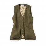 Ladies Shooting Vest in Renoir
