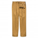 Warm Weather Cotton Trousers in Beige