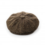 Redford Tweed cap in Bowden Herringbone