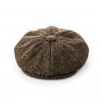 Redford Tweed cap in Bowden Herringbone