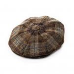 Redford Tweed cap in Highland Brown