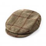 Bond Tweed cap in Lowland Green