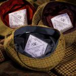 Kinloch Tweed Cap in Classic Herringbone