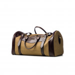 Medium Sutherland Bag in Sand & Dark Tan
