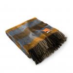 Wool Travel Blanket in Autumn Sand
