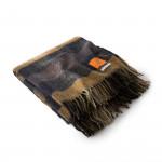 Wool Travel Blanket in Autumn Sunset