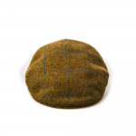 Kinloch Tweed Cap in Blue Check