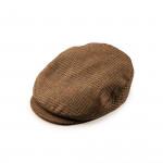 Bond Tweed Cap - Prince of Wales - Brown