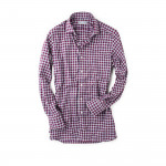 Classic Shirt in Red/Navy Check