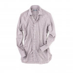Classic Shirt in Red/Grey Check