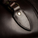 Taylor Rifle Slip in Dark Tan Patterned