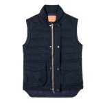 Pathfinder Quilted Gilet in Midnight