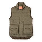 Pathfinder Quilted Gilet in Hunter Green