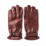 LH Leather Shooting Gloves in Tan