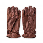 Leather Shooting Gloves - Tan - RH