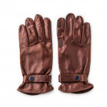RH Leather Shooting Gloves in Tan