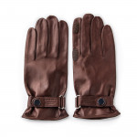 Leather Shooting Gloves - Mink- RH