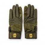 Mesh Long Green Glove