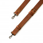 Traditional Hook & Eye Rifle Sling in Dark Tan