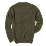 Longhaven Cashmere Sweater in Loden