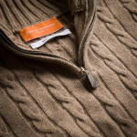 Cashmere Cannock Cable  in Light Clay