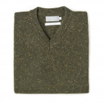 Stirling Cashmere Slip over in Loden