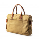 Bournbrook Briefcase in Sand Canvas