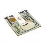 Scroll Crest Money Clip