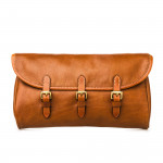 Redfern Cleaning Pouch with Accessories in Mid Tan